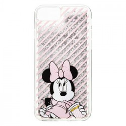 Disney Minnie 017 Back Cover Silver pro iPhone 6/6S