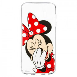 Disney Minnie 006 Back Cover Transparent pro Samsung G935 Galaxy S7 Edge