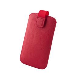 GreenGo Slim Up Mono Puzdro XXL (i9100 Galaxy S II) červené