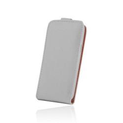Kožené diárové puzdro PLUS New pre Sony Xperia Z5 biele