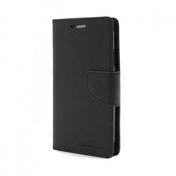 Diárové puzdro Mercury Fancy LG G4 čierne / čierne