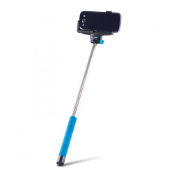 Selfie tyč FOREVER Bluetooth MP-100 modrá
