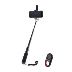 Selfie tyč FOREVER Premium PMP-01 Mini čierna