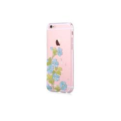 Silikónové puzdro DEVIA Bluebell pre Apple iPhone 6/6s modré