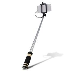 Selfie tyč Audio  SETTY čierna