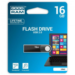 USB kľúč 16 GB GOODDRIVE COLOUR MIX čierny