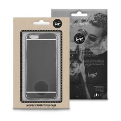 Plastové puzdro Mirror TPU pre Apple iPhone 7/8 čierne