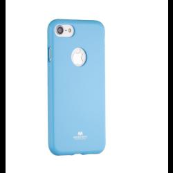 Silikónové puzdro Jelly Mercury pre Apple iPhone 7 modré