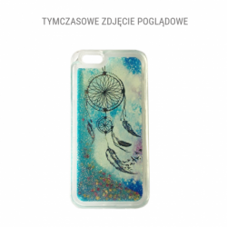 Plastové púzdro Liquid Glitter TPU Case Catcher for LG K10 K420N blue