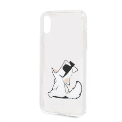 KLHCPXCFNRC Karl Lagerfeld Fun Choupette No Rope Hard Case pro iPhone X/XS