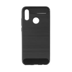 Pevné silikónové puzdro Forcell Carbon pre Huawei P Smart 2019/ Honor 10 Lite čierne