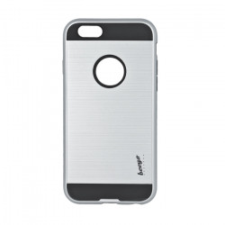 Plastové puzdro Beeyo Armor pre Samsung Galaxy S8 strieborné