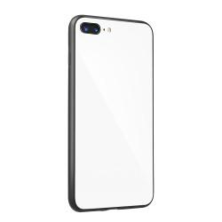 Plastové puzdro Glass case pre Samsung Galaxy A6 2018 biele