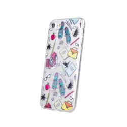 Silikónové puzdro School2 pre Samsung Galaxy A40 viacfarebné