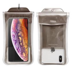 """Vodeodolné puzdro na mobil Baseus Uni Safe AirBag IPX8 6.5"""", na krk čierne"""