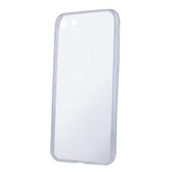 Silikónové puzdro Slim 1 mm pre Motorola Moto E6 Play transparentné