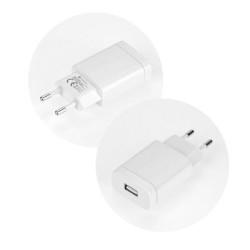 Sieťová nabíjačka Forcell USB 2,4 A biela