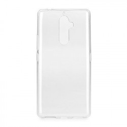 Silikonové puzdro Back Ultra Slim 0,5mm Lenovo  K8 Note transparent