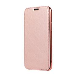 Diárové puzdro Forcell Electro Book pre Samsung Galaxy S20 Ultra ružovo zlaté