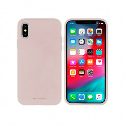 Silikónové puzdro na Apple iPhone 6/6s Mercury Silicone ružové
