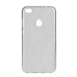 "Silikonové puzdro Forcell SHINING pre Apple iPhone 7/8 (4,7"") strieborné"