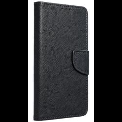 Diárové puzdro na Apple iPhone 5/5S/5SE Fancy čierne