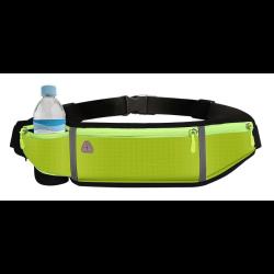 Puzdro na behanie Reflexné (kapsa, držiak na fľašu) - zelené