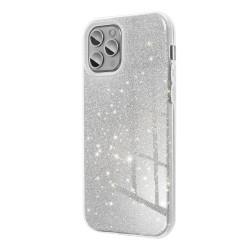 Silikónové puzdro na Apple iPhone 6/6s Forcell SHINING strieborné