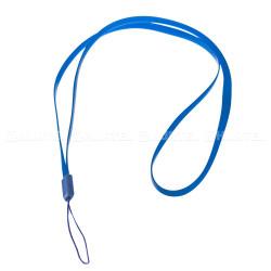 Silikónová šnúrka na mobil modrá
