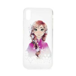 Silikónové puzdro Disney Anna pre Apple iPhone XS (001)