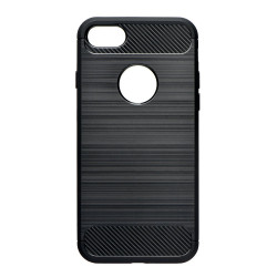 Silikónové puzdro Forcell Carbon pre Samsung Galaxy A20E čierne