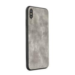 Silikónové puzdro Forcell Denim pre Apple iPhone 6/ 6s sivé