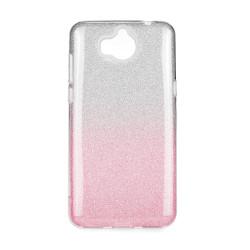 Silikónové puzdro Forcell Shining pre Huawei Y6 2018 ružové