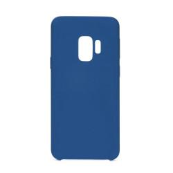 Silikónové puzdro Forcell Silicone pre Samsung Galaxy S9 tmavomodré