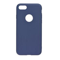 Silikónové puzdro Forcell Soft pre Apple iPhone X/XS tmavomodré