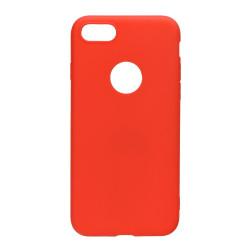 Silikónový kryt na iPhone XS Max Forcell Soft červený