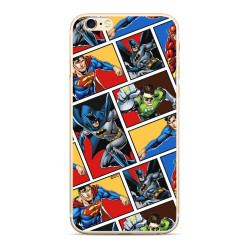 Silikónové puzdro Justice League pre Apple iPhone 7/8 (001)