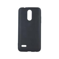 Silikónové puzdro Matt TPU pre Apple iPhone 5/5s/se čierne