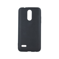 Silikónové puzdro Matt TPU pre Samsung Galaxy A40 čierne
