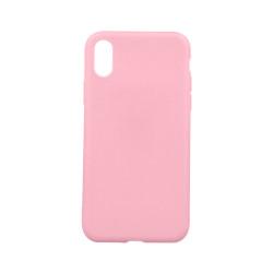 Silikónové puzdro Matt TPU pre Samsung Galaxy A6 Plus 2018 ružové