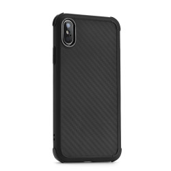Silikónové puzdro Roar Armor Carbon pre Samsung Galaxy A50 čierne