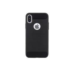 Silikónové puzdro Simple Black pre Apple iPhone 6/ 6s čierne
