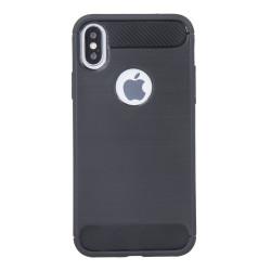 Silikónové puzdro Simple Black pre Huawei Y7 2019 čierne