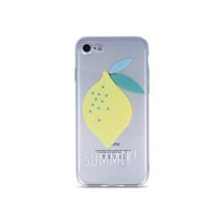 Silikónové puzdro Ultra Trendy Lemon pre Samsung Galaxy A50 viacfarebné