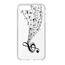 Silikónové puzdro Ultra Trendy Music2 pre Huawei P20 Lite transparentné