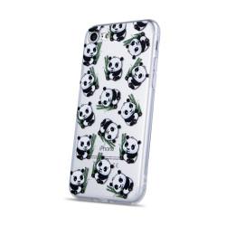 Silikónové puzdro Ultra Trendy Panda pre Huawei Y5 2019 viacfarebné