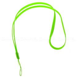 Silikónová šnúrka na mobil zelená