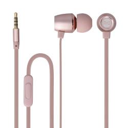 Slúchadlá Forever MSE-100 ružovo zlaté