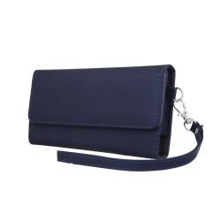 Univerzálne puzdro Wallet Chic 6,0' tmavomodré
