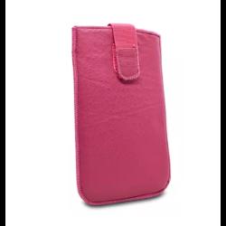 Puzdro vsuvka uni pravá koža, SK výroba veľkosť 28 ružové